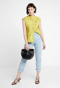 KIOMI - Button-down blouse - yellow - 2