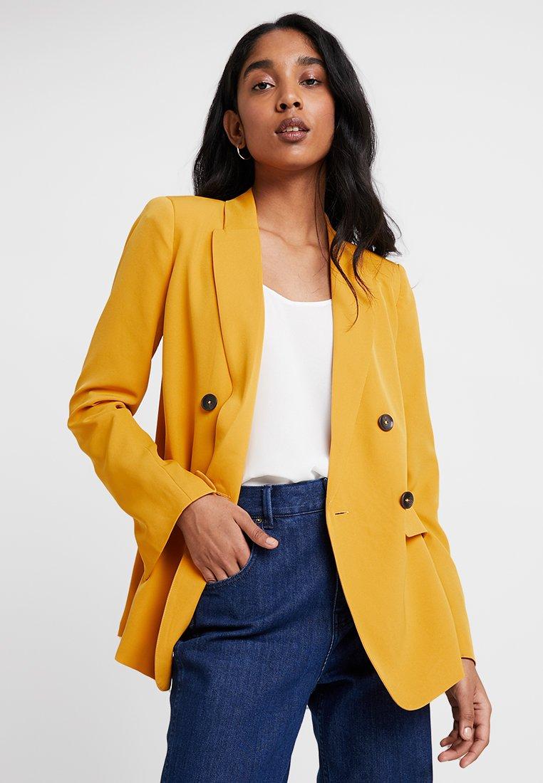 KIOMI - Blazer - dark yellow