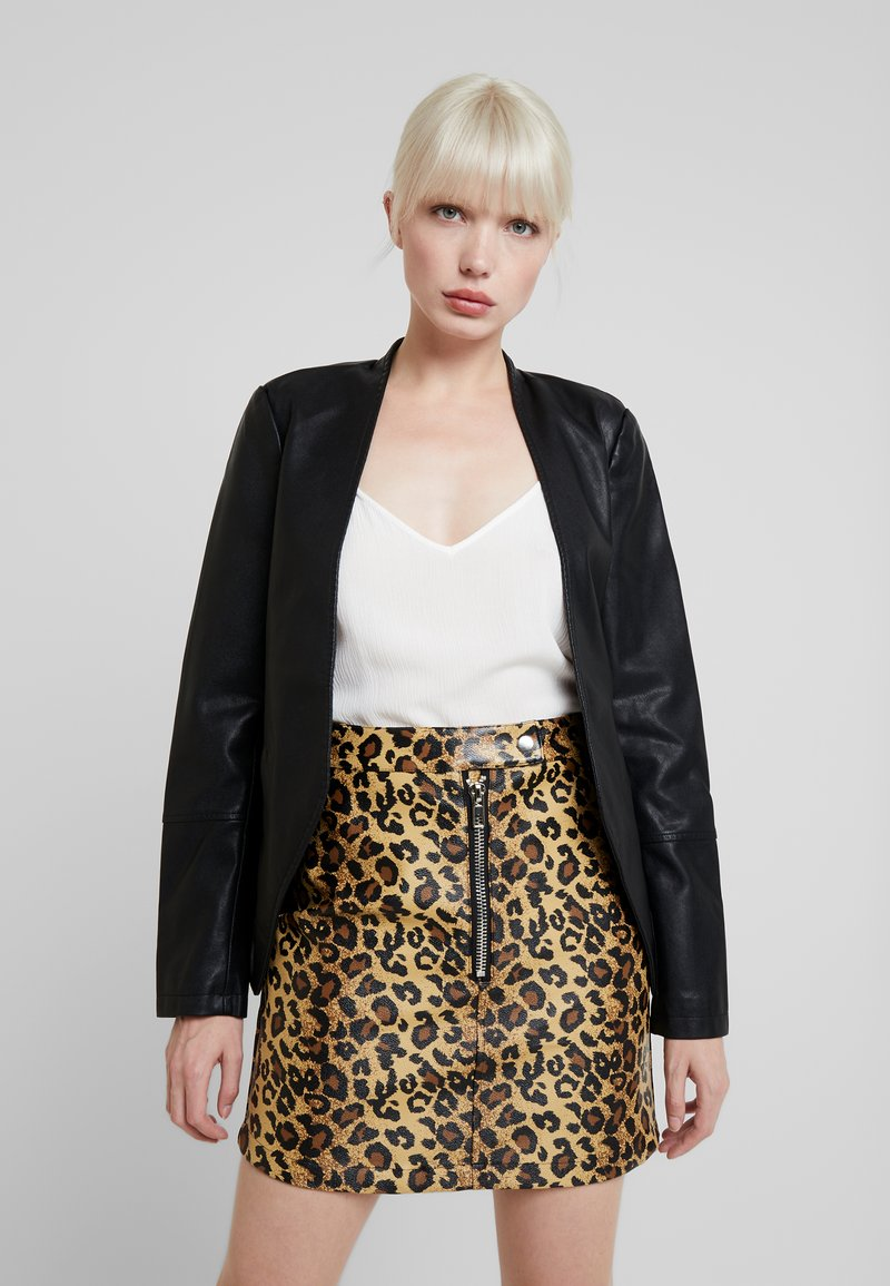 KIOMI - Faux leather jacket - black