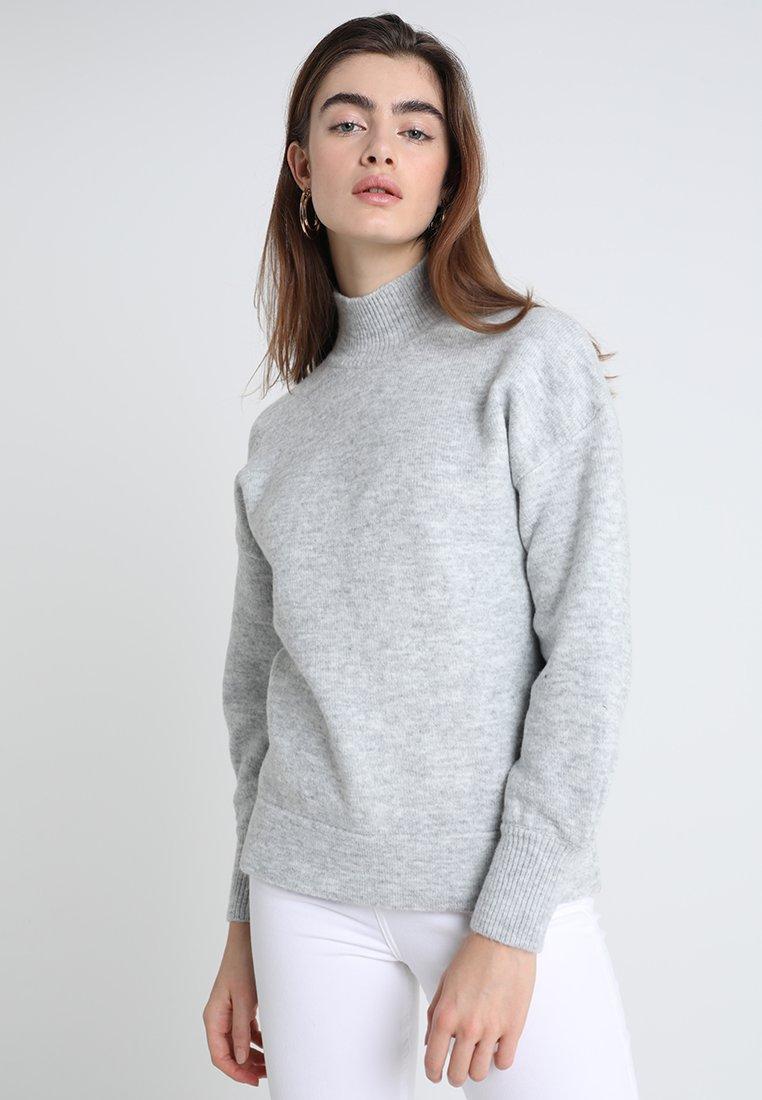 KIOMI - Strickpullover - mottled light grey