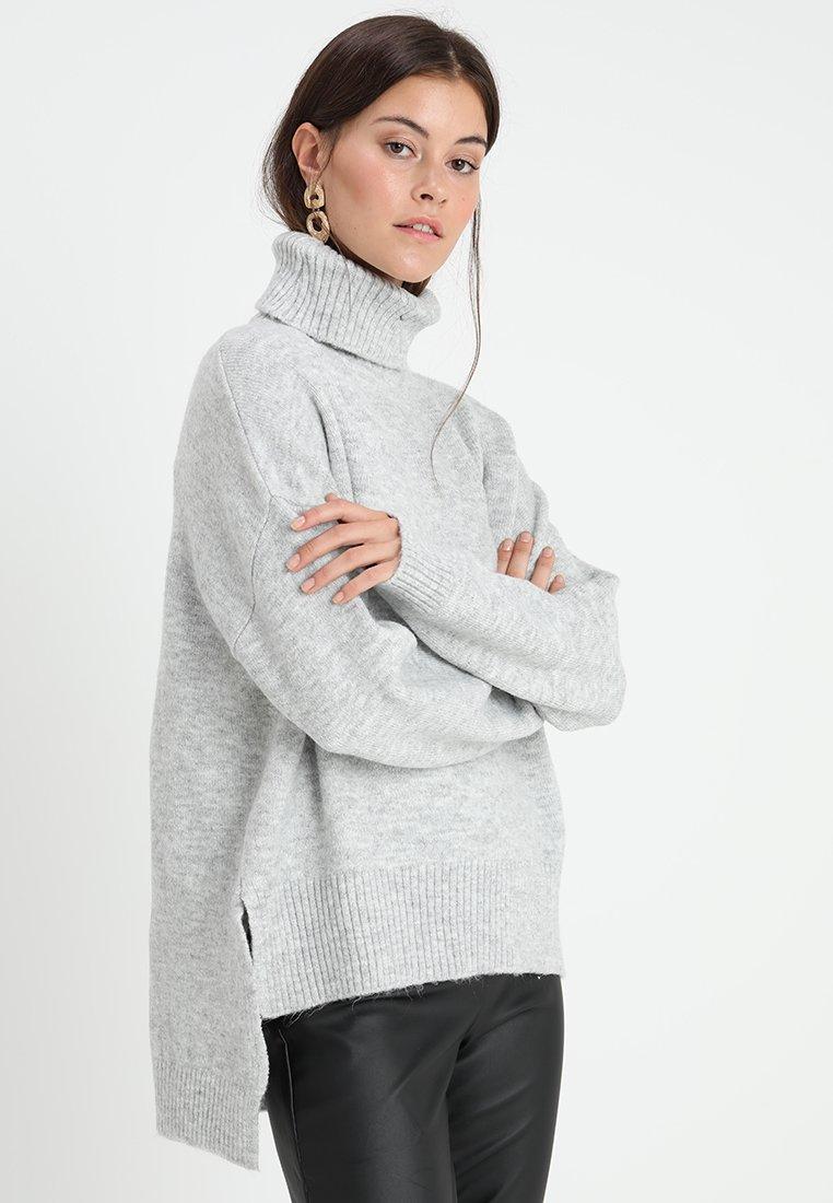 KIOMI - Jumper - mottled light grey