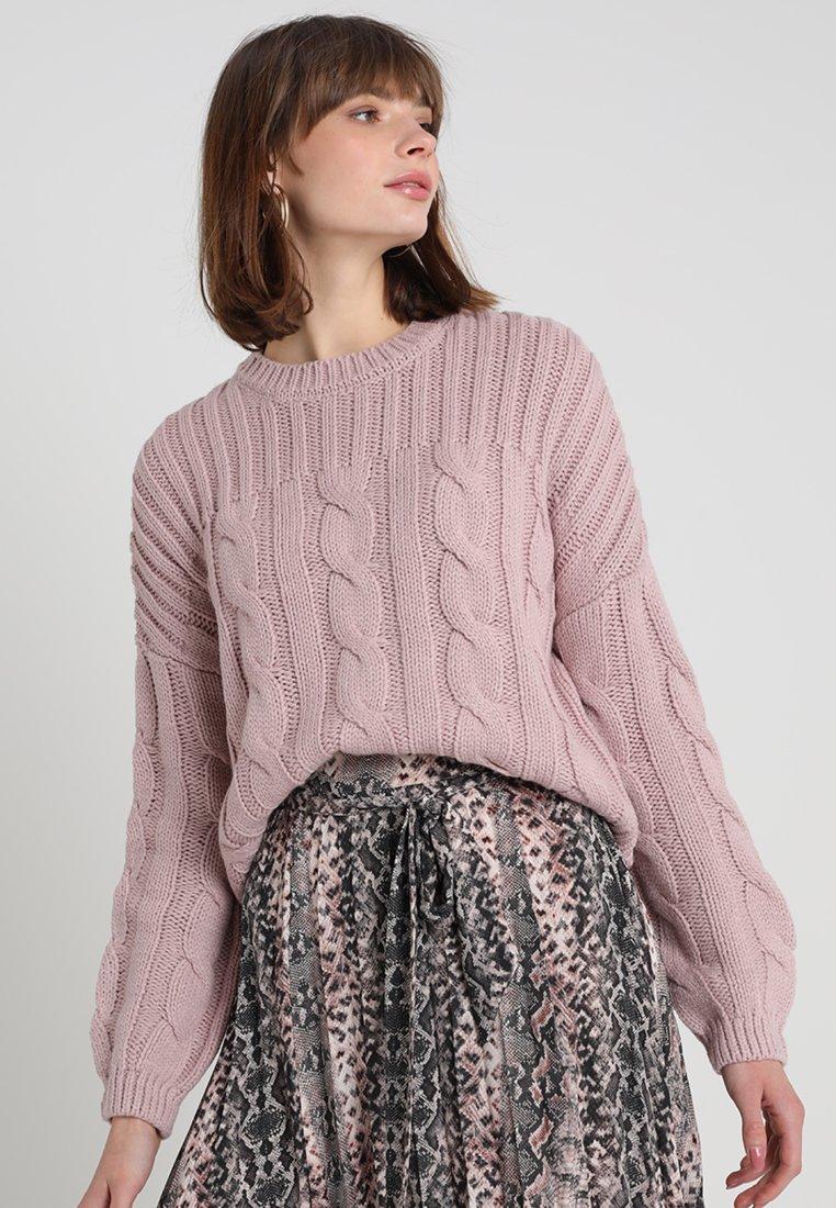 KIOMI - Strickpullover - lilac