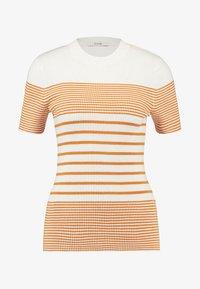 KIOMI - Print T-shirt - white/yellow - 4