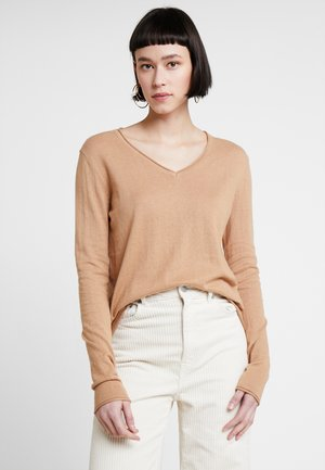 CASHMERE MIX - Pullover - camel