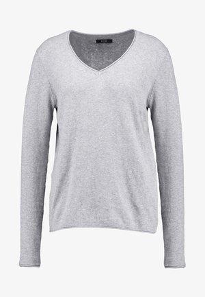 CASHMERE MIX - Stickad tröja - grey