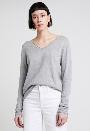 CASHMERE MIX - Pullover - grey