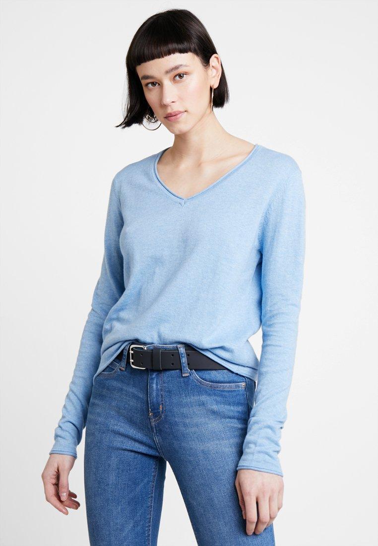 Cashmere MixPullover Kiomi Blue Light Cashmere Blue MixPullover Light Kiomi Kiomi PkXOn0w8
