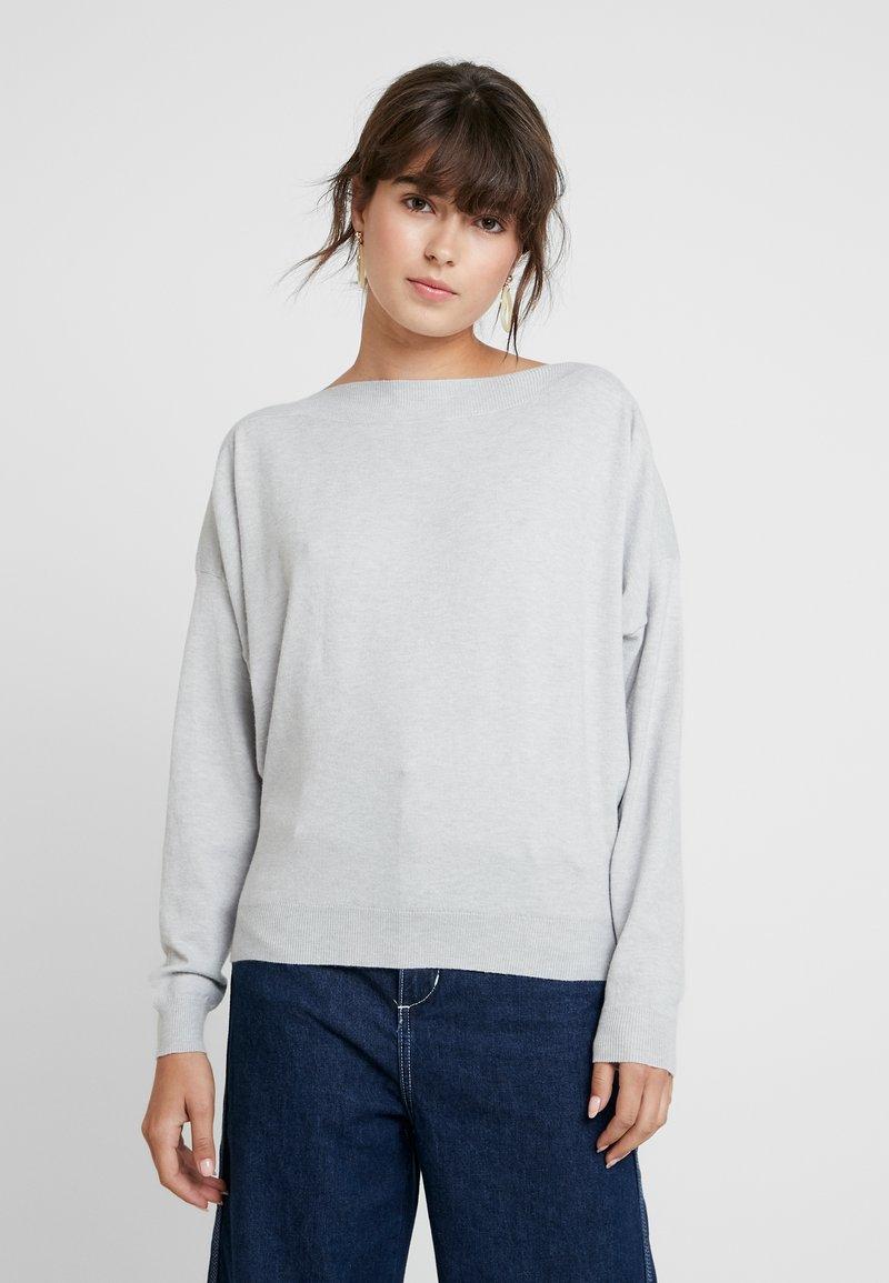 KIOMI - Strikpullover /Striktrøjer - light grey