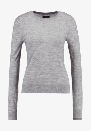 MERINO  - Jersey de punto - mid grey melange