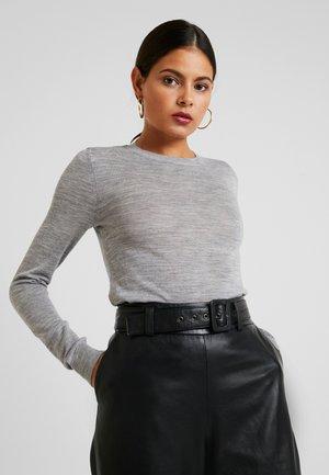 MERINO  - Pullover - mid grey melange