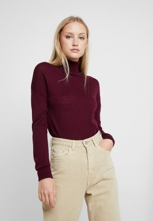 MERINO - Jumper - bordeaux
