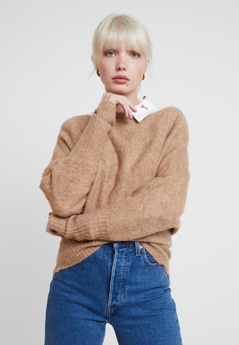 KIOMI - Pullover - mottled beige