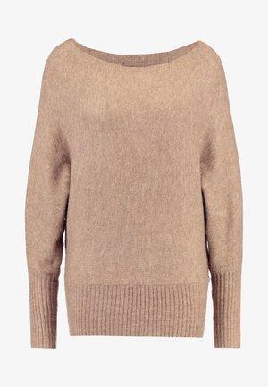 Pullover - mottled beige