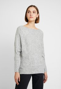KIOMI - Jumper - mottled light grey - 0