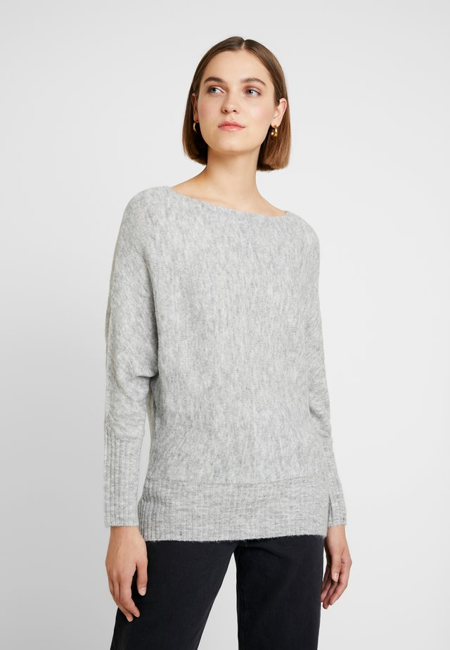 Jumper - mottled light grey