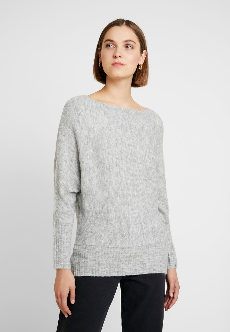 KIOMI - Strickpullover - mottled light grey