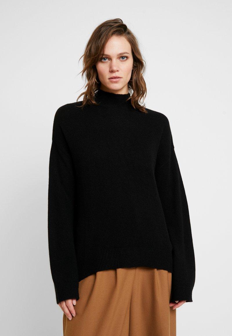 KIOMI - KASCHMIR - Stickad tröja - black