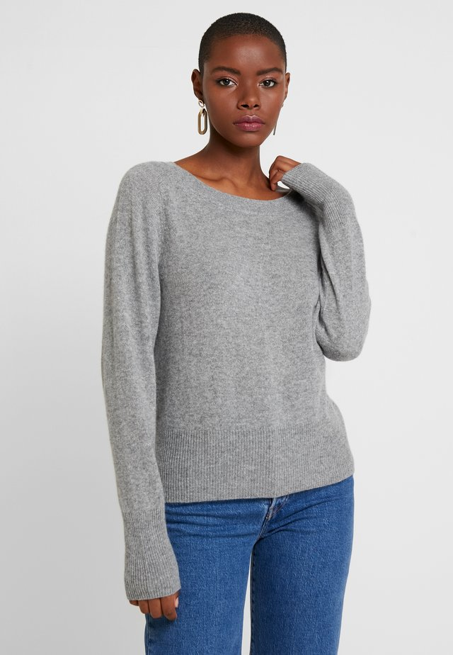 KASCHMIR - Jumper - mottled light grey