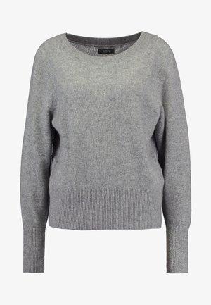 KASCHMIR - Strikkegenser - mottled light grey