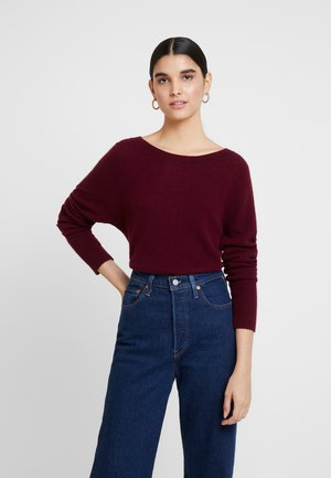 KASCHMIR - Sweter - bordeaux