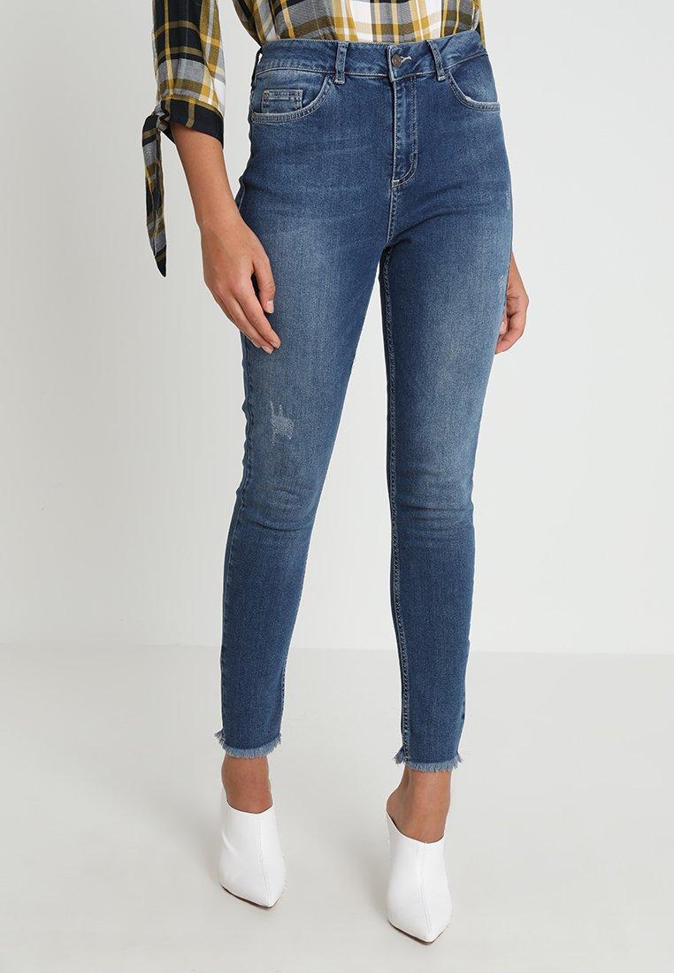 KIOMI - Jeans Slim Fit - mid blue denim