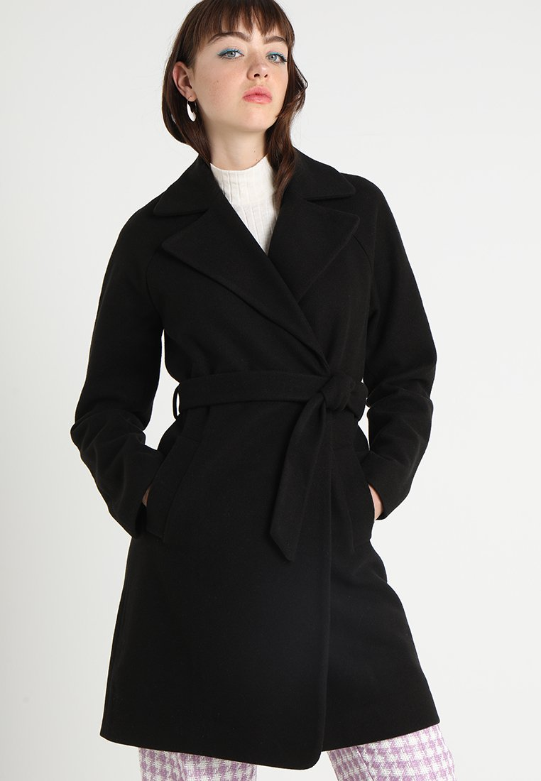 KIOMI - Cappotto classico - black