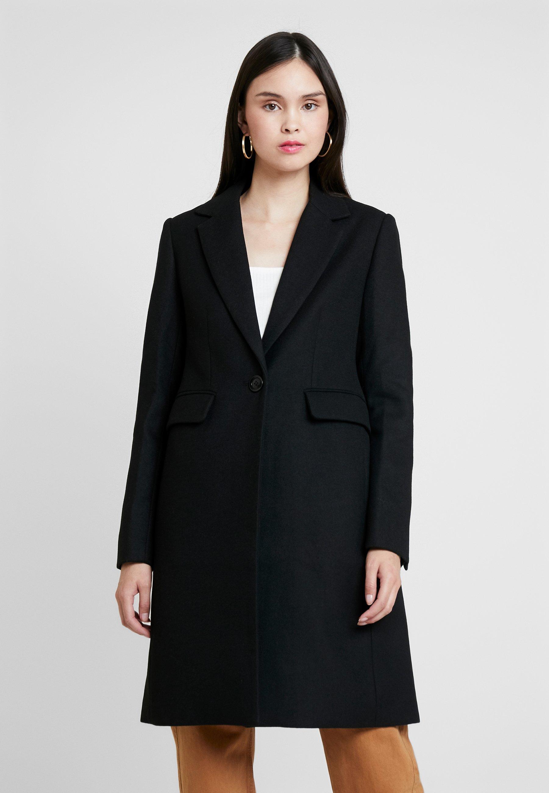 KIOMI Płaszcz wełniany /Płaszcz klasyczny - black