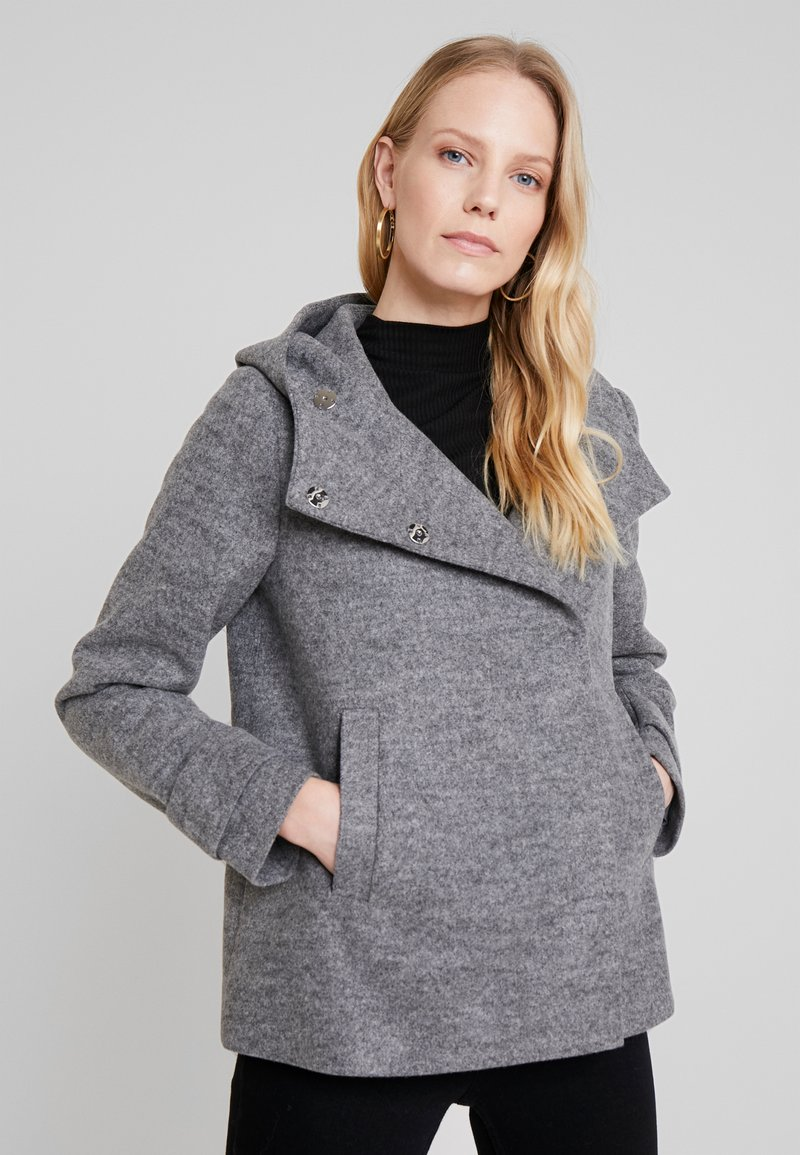 KIOMI - Summer jacket - light grey melange