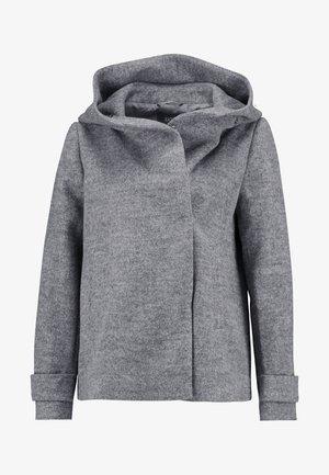 Lehká bunda - light grey melange
