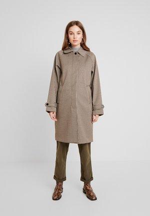 Wollmantel/klassischer Mantel - brown/beige/black