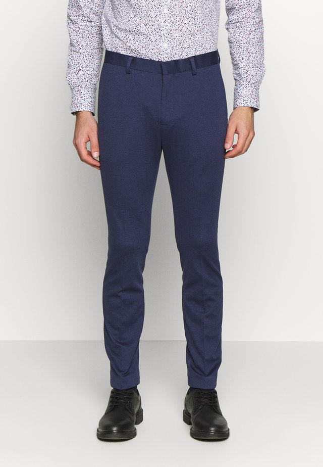 Pantalon de costume - mottled dark blue
