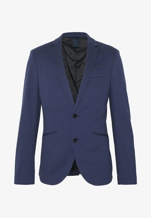 Blazer jacket - mottled dark blue