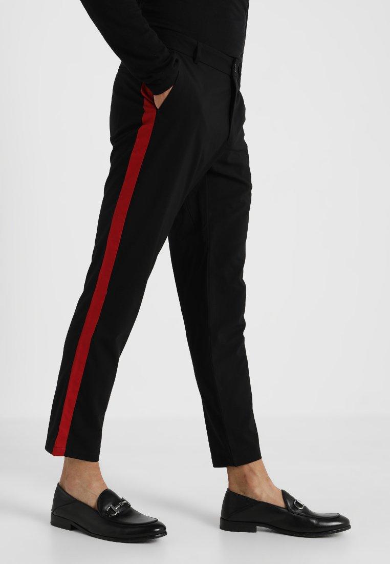 KIOMI - Spodnie materiałowe - black