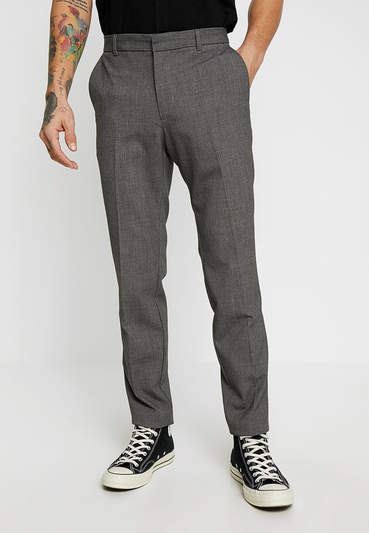 KIOMI - Pantalon de costume - mottled grey