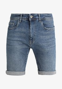 Pier One - Shorts di jeans - blue denim - 4