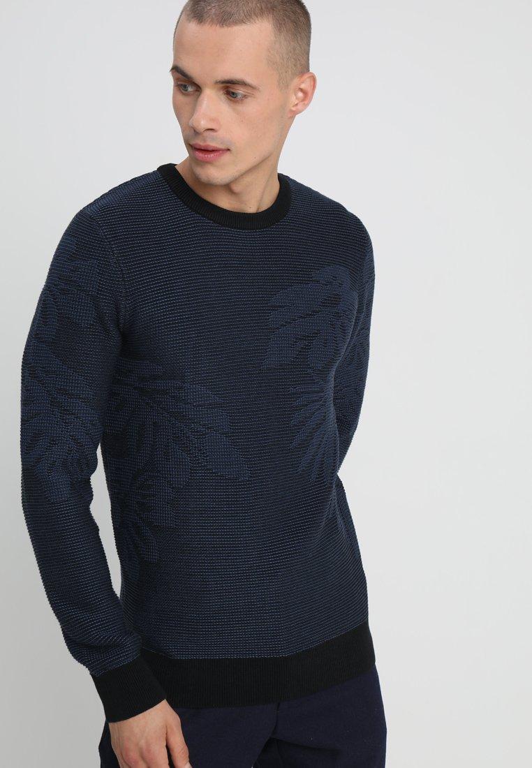 KIOMI - Strickpullover - dark blue