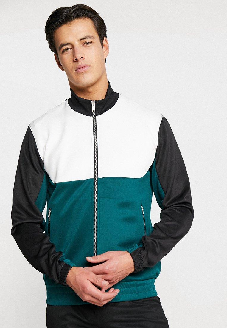 KIOMI - veste en sweat zippée - green