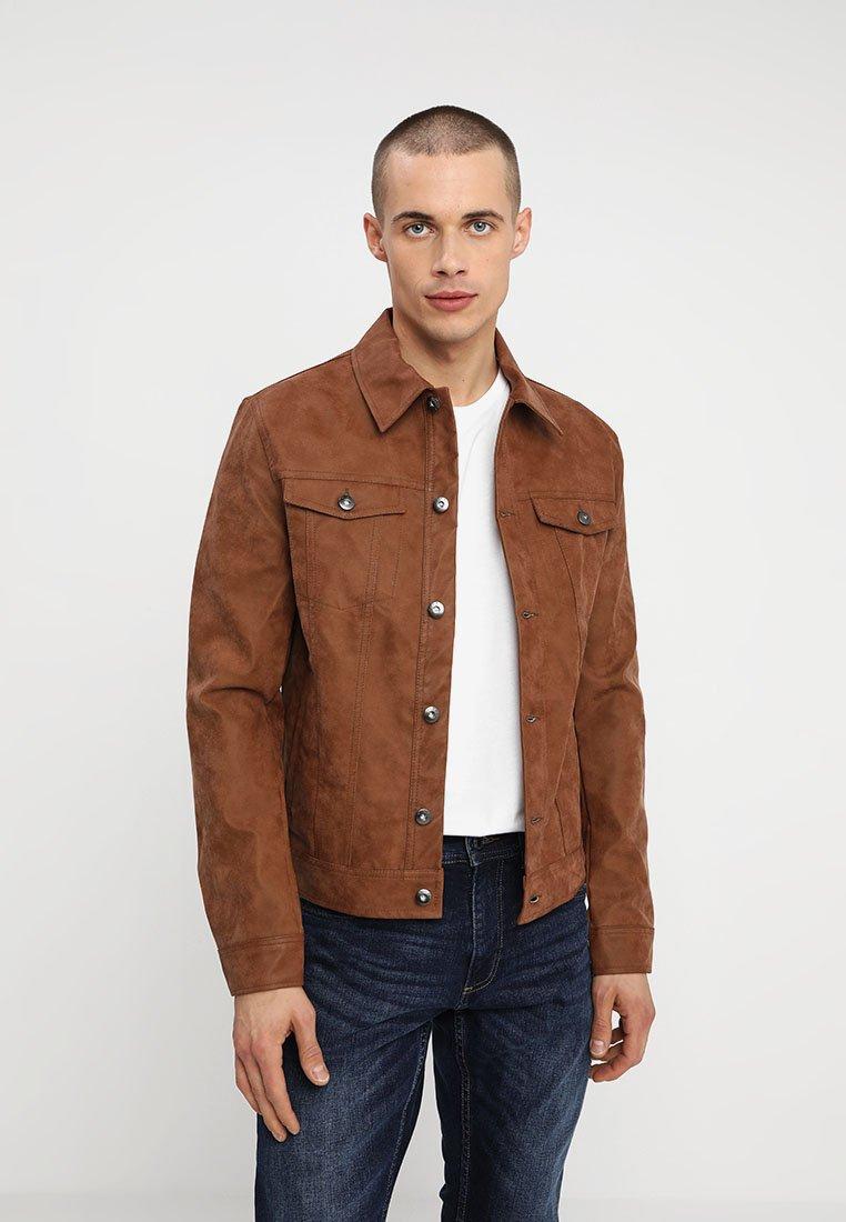 KIOMI - Faux leather jacket - camel