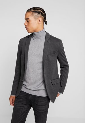 Blazer jacket - mottled grey