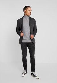 KIOMI - Blazer jacket - mottled grey - 1