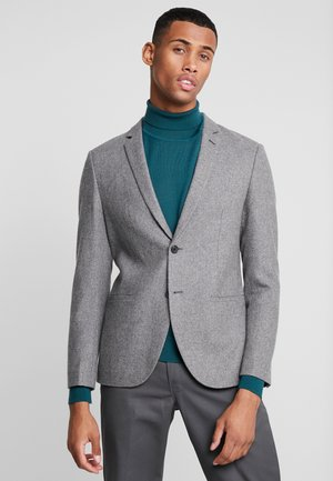 Suit jacket - mottled grey
