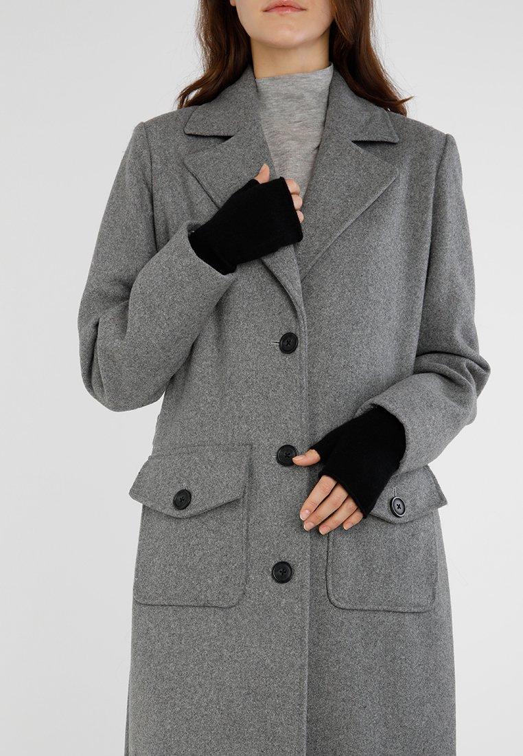 KIOMI - CASHMERE - Fingerless gloves - black