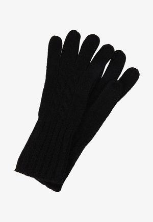 CASHMERE - Gloves - black