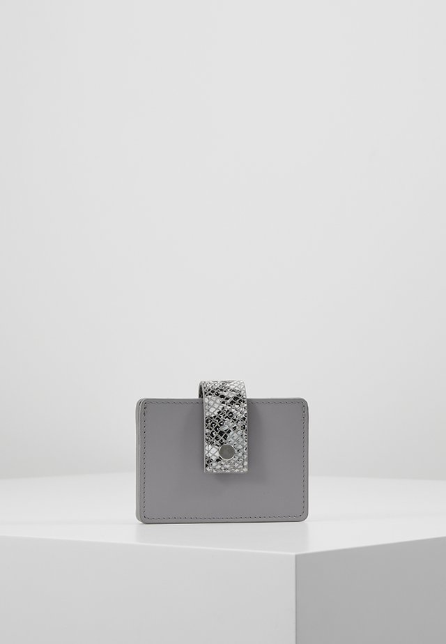 LEATHER - Geldbörse - light grey