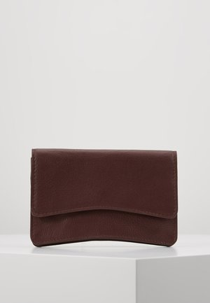 LEATHER - Wallet - burgundy
