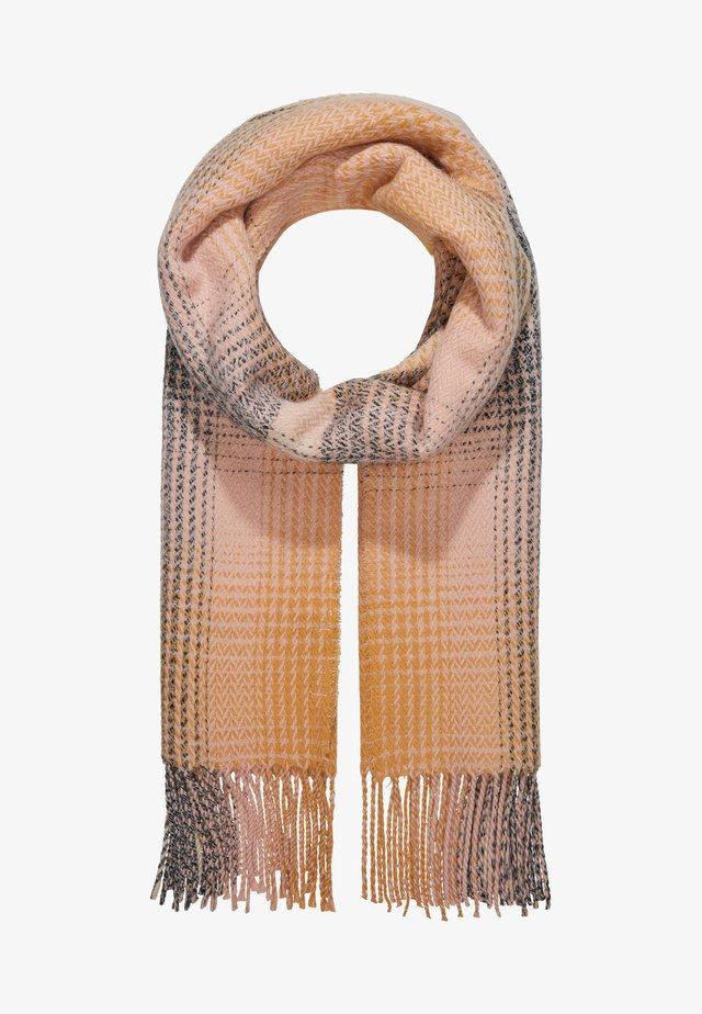 Sjaal - beige/pink