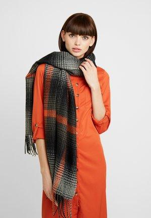 Sjaal - black/orange