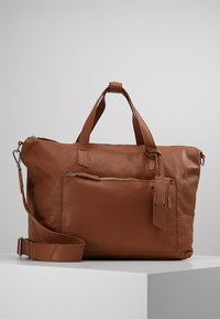 KIOMI - Weekend bag - cognac - 0