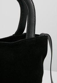 KIOMI - LEATHER - Across body bag - black - 6