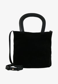 KIOMI - LEATHER - Across body bag - black - 5